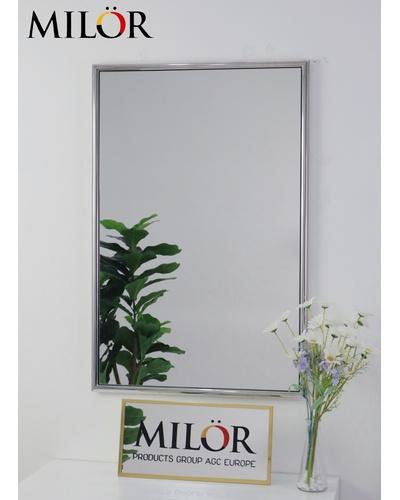 Gương khung inox Silver Mirror