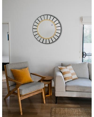 Gương trang trí phòng khách Tuberose
