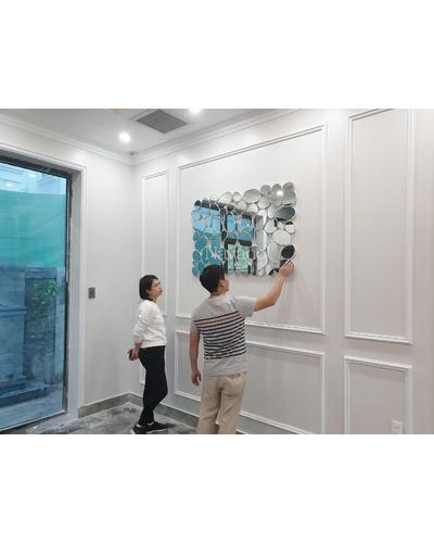 Gương nghệ thuật decor Sài Gòn