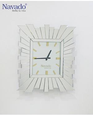 Đồng hồ gương treo tường General